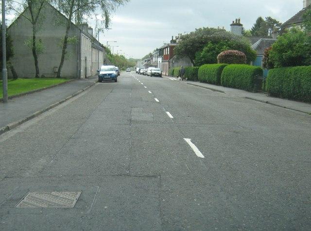 King Street approaching Cunninghame Terrace