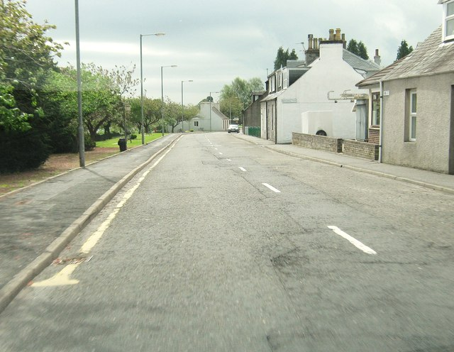 King Street at the junction with Mitchell Terrace