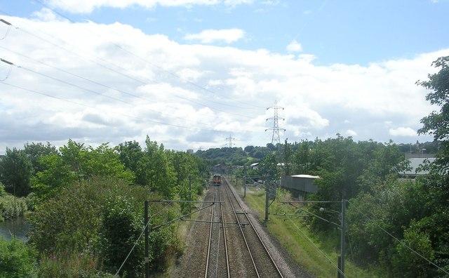 View from Kirkstall Bridge - Bridge Road