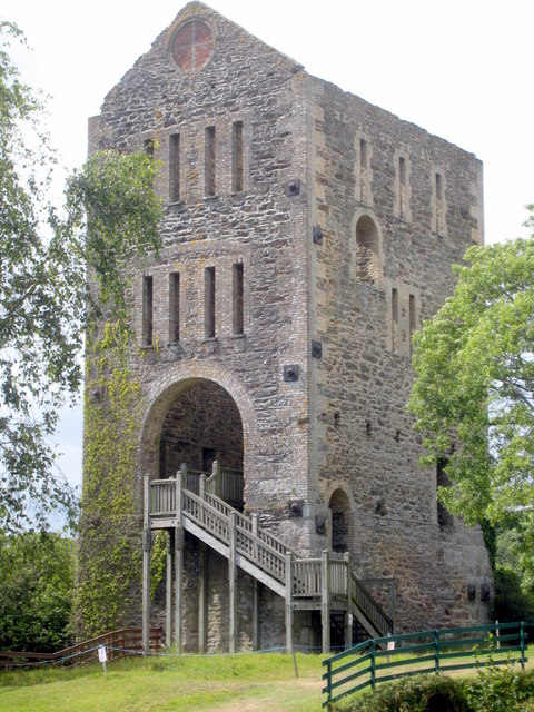 Engine house at East Wheal Rose