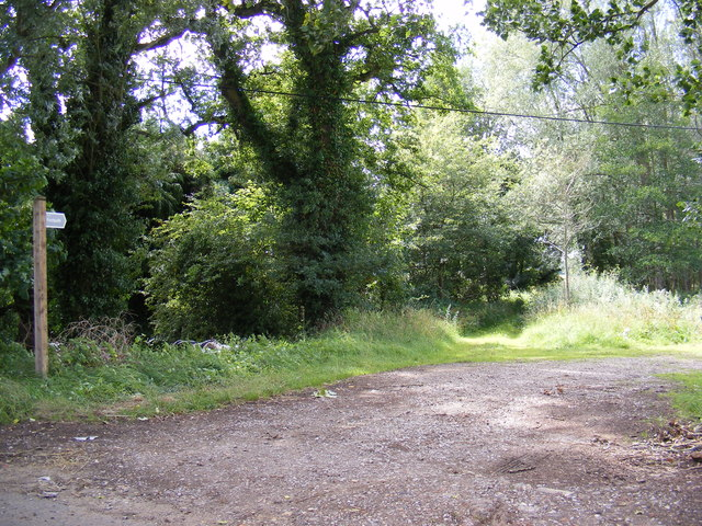 Footpath to Rushmere Street