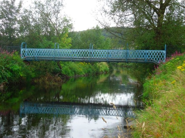 Bridge of Allan, Allanvale Road footbridge