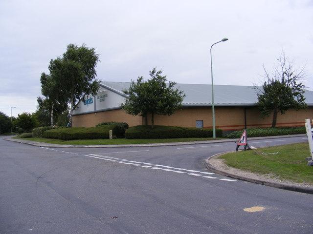 Road junction in Beardmore Park