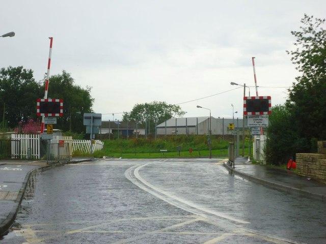 Bridge of Allan, Cornton Road level crossing
