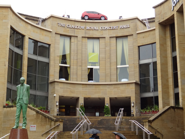 Parking, Royal Concert Hall, Glasgow
