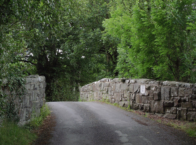 Railway bridge near Llangybi, Ceredigion