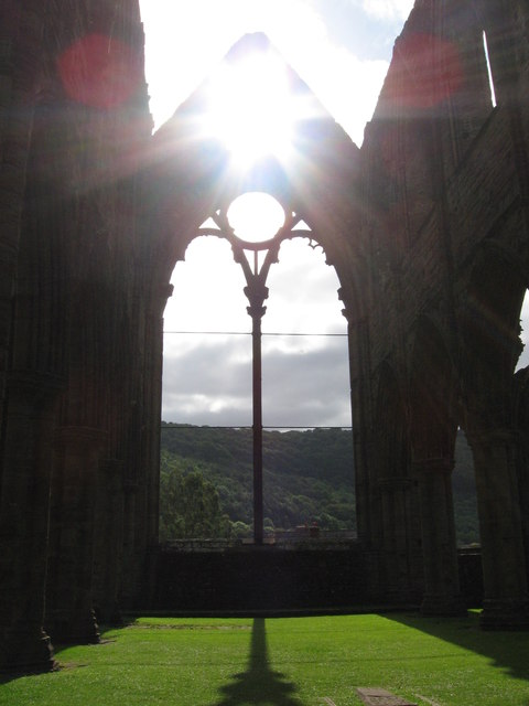 Tintern Abbey, east window