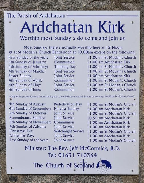 Ardchattan Kirk - exterior (3)