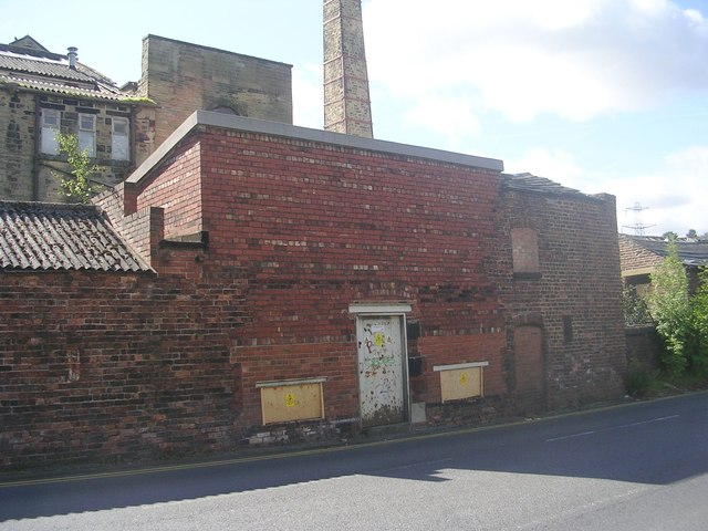 Electricity Substation No 77 - Stonebridge Mills - Stonebridge Lane