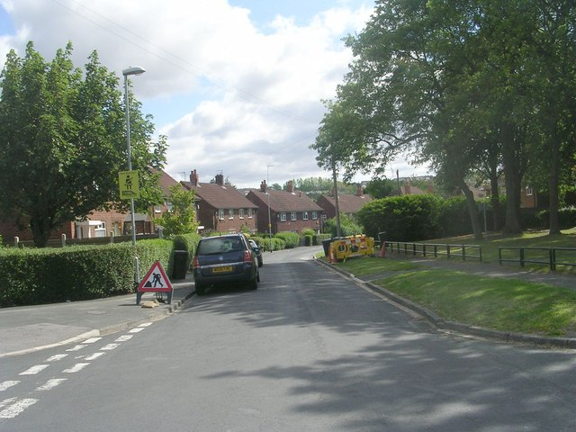 Stonebridge Grove - viewed from Stonebridge Approach