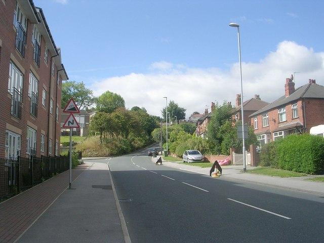 Stonebridge Lane - viewed from Stonebridge Grove