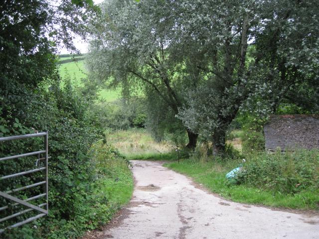 Entrance to Dart Vale Fish Farm