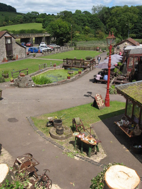 Abbey Mill grounds, Tintern