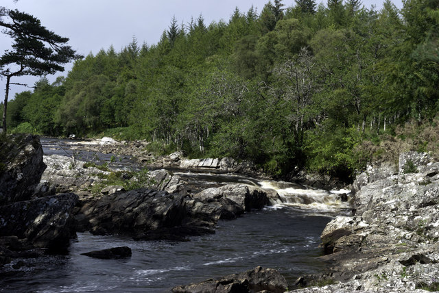 Achness Upper Falls