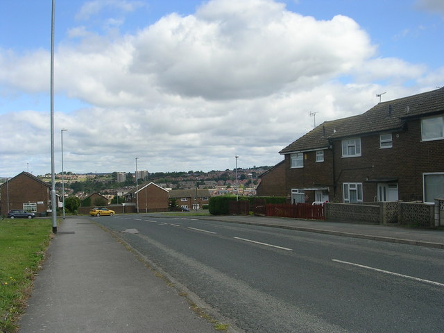 Butterbowl Drive - viewed from Bawn Approach