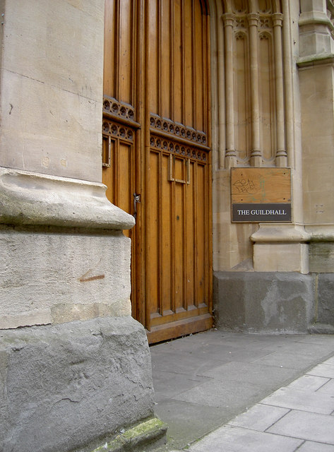 Guildhall entrance