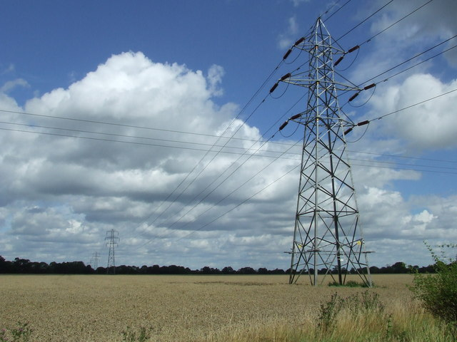 Pylons And Power Lines