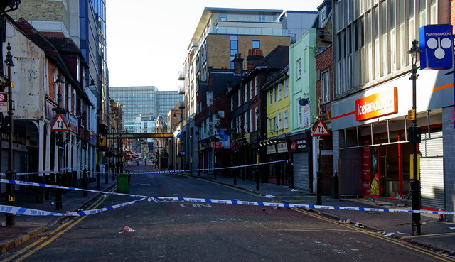 Croydon Riots - the morning after