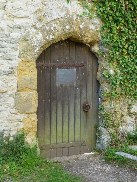 St Richard's gate in Amberley churchyard