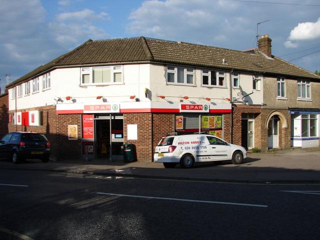 Corner shop on Dunmow Road
