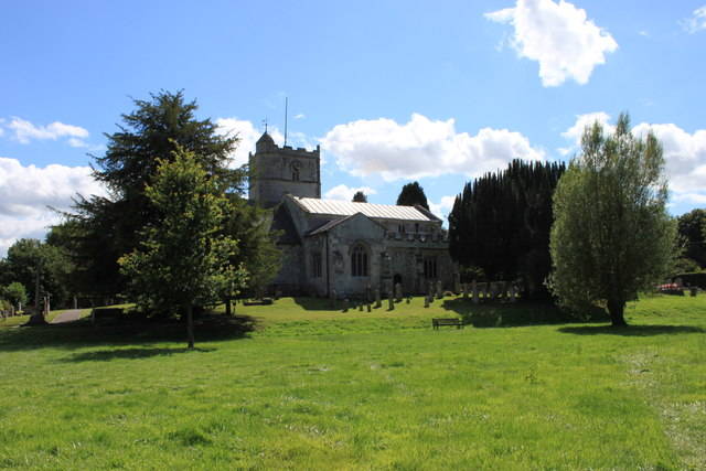 St Michael and All Angels church at Coombe Bissett