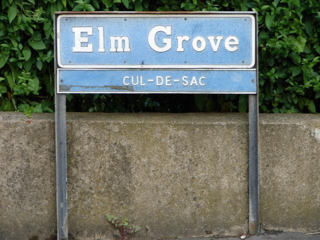 Elm Grove street sign