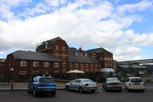 The Hall & Woodhouse New Brewery