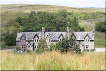 SD7992 : Railway men's cottages at Dandry Mire by K  A