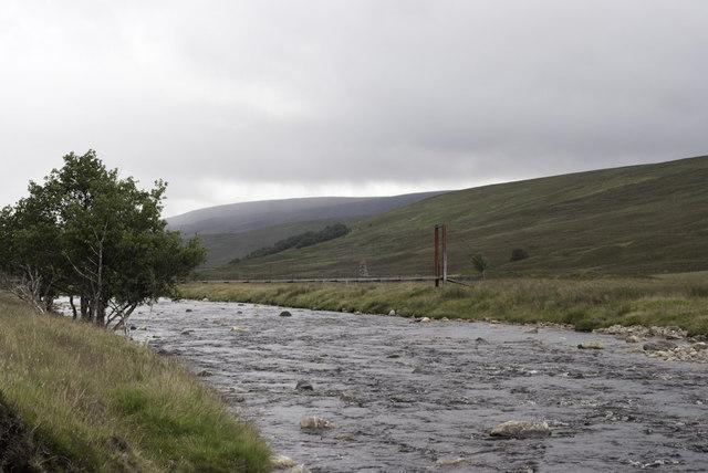 Footbridge near Duchally