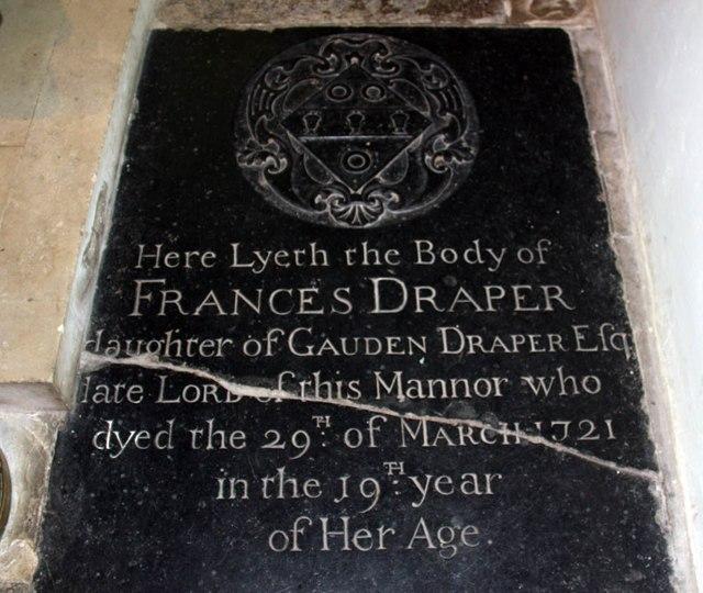 St Mary of the Assumption, Froyle - Ledger slab