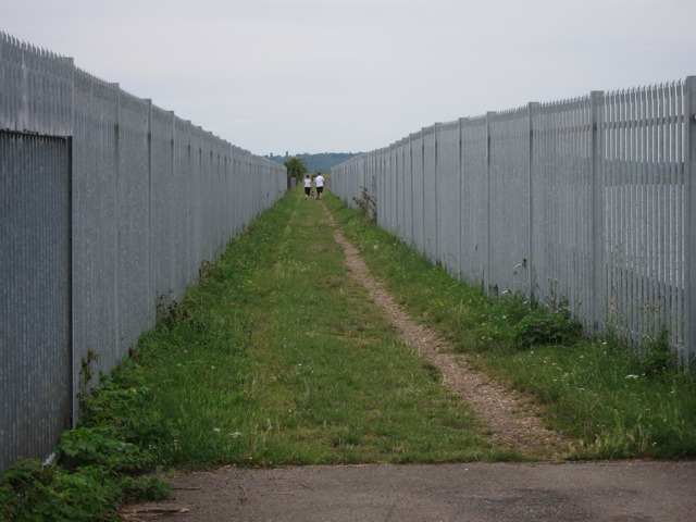 Footpath through Staines Reservoirs