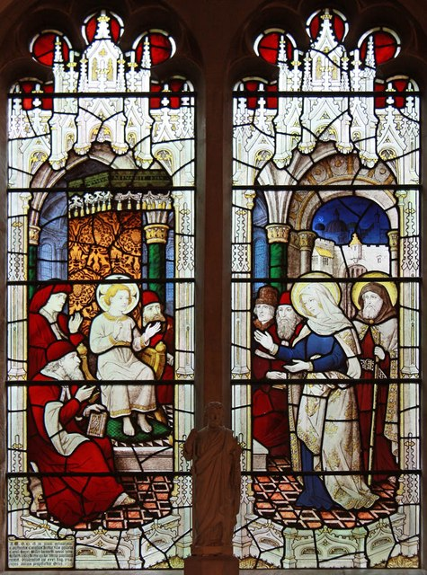 St Mary of the Assumption, Froyle - Stained glass window