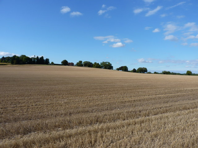 Across fields towards Kingslow