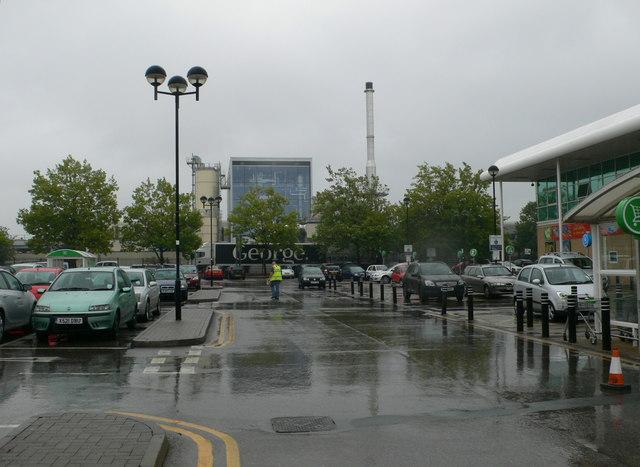 Hulme High Street Asda Car Park