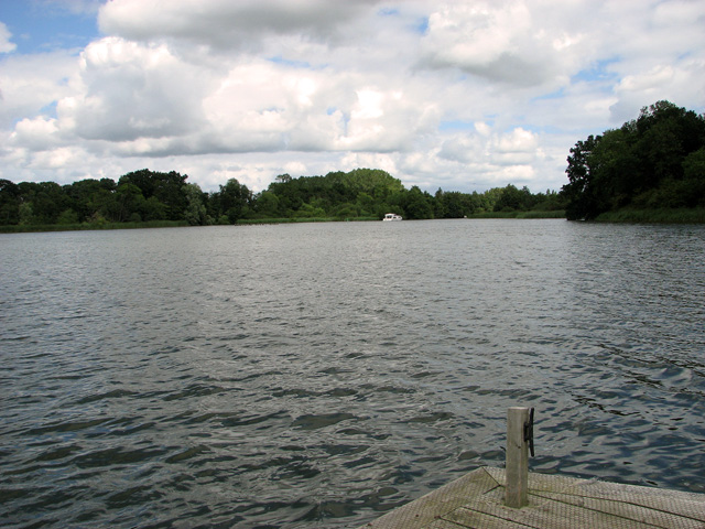 View across South Walsham Broad