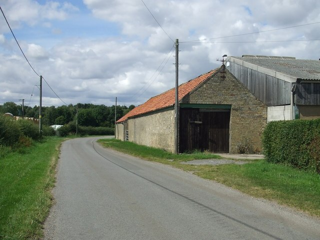 Court House Farm outbuilding on Unnamed Lane