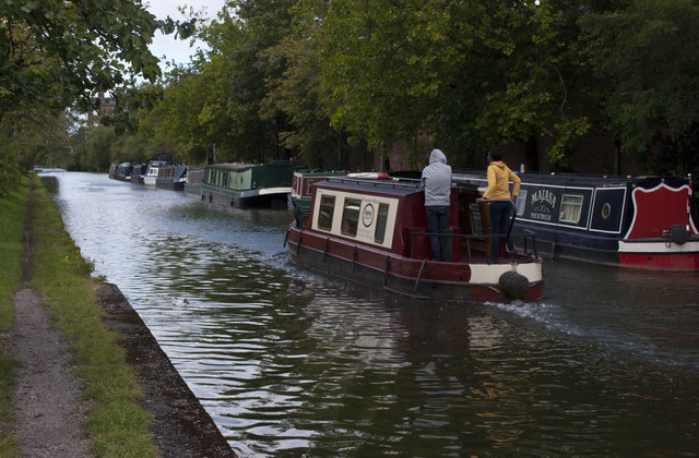 Narrowboats on the Bridgewater Canal