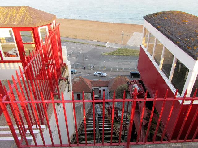 Leas Cliff Funicular Railway
