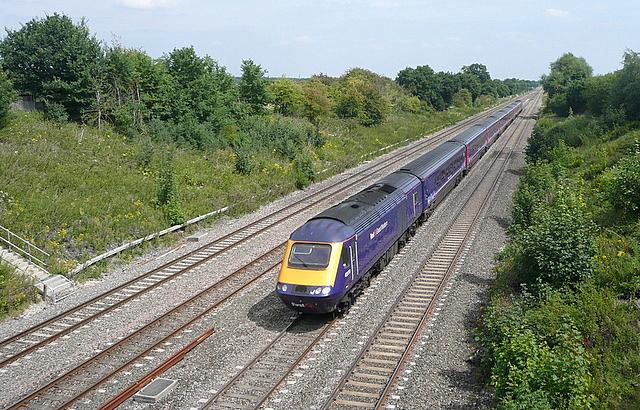 Main line towards Paddington