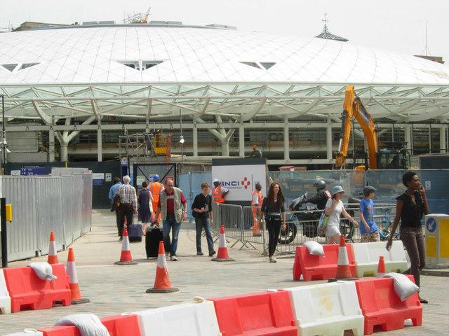 King's Cross Station - new entrance