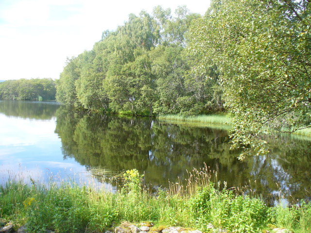 Bay on Loch Kinord