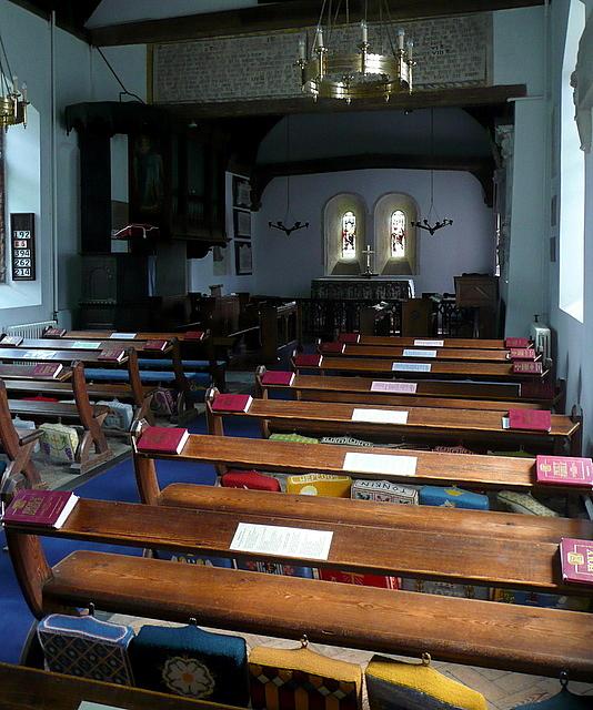 St James' church, interior