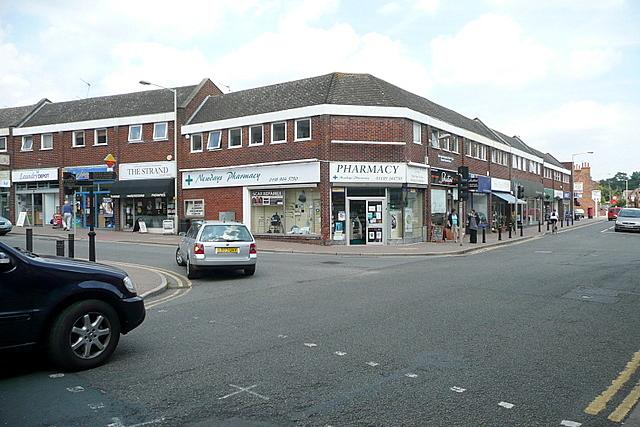 Twyford crossroads
