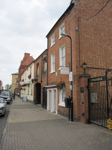 Ely Street towards the town hall