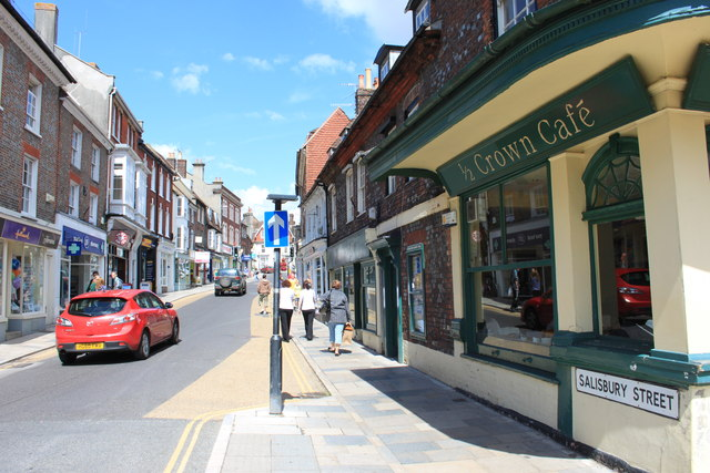 Salisbury Street, Blandford Forum