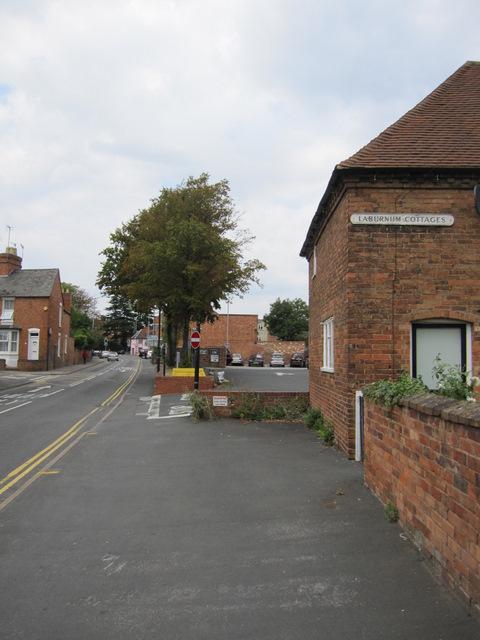 Grove Road and #1 Laburnum Cottages