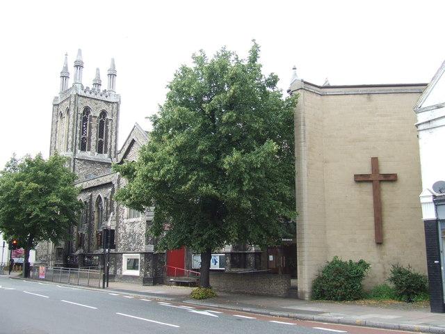 Church near Greenwich