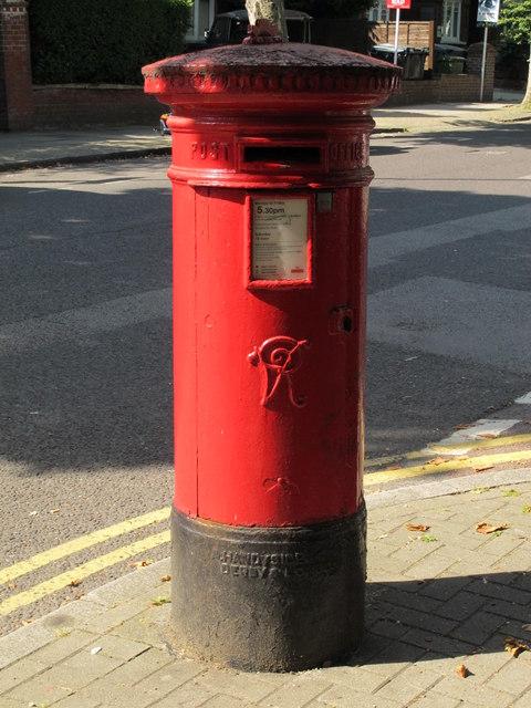 Victorian postbox, Brondesbury Road / Lynton Road, NW6