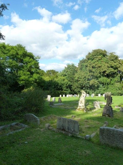 All Saints, East Stratton: churchyard (2)