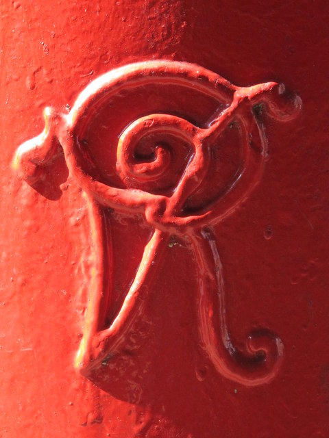 Victorian postbox, Brondesbury Road / Lynton Road, NW6 - royal cipher